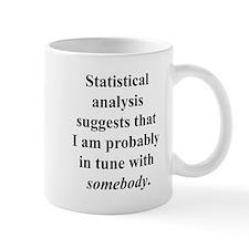 Statistically in Tune . . . Small Mug