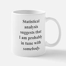 Statistically in Tune . . . Small Small Mug