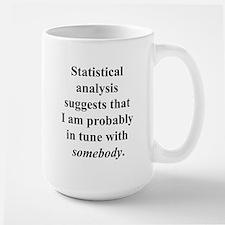 Statistically in Tune . . . Large Mug