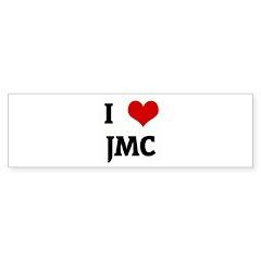 I Love JMC Bumper Sticker (10 pk)