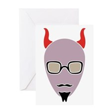 Corporate Devil Greeting Card