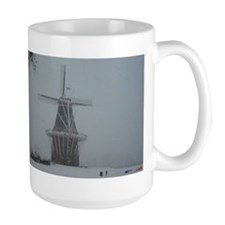 DeZwaan Windmill in the Snow Mug
