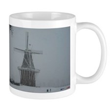 DeZwaan Windmill in the Snow Mug