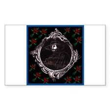Phantom (with Red Roses) ~ Rectangle Decal