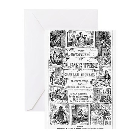 Oliver Twist Greeting Cards (6)