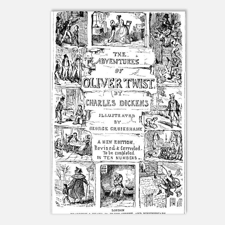 Oliver Twist Postcards (8)