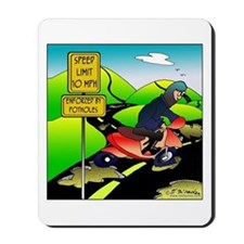 Scooters, Potholes & the Speed Limit Mousepad