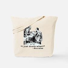 Socrates Humor Hemlock Tote Bag