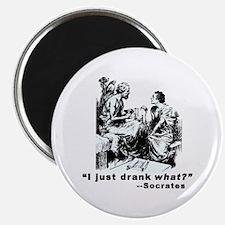 "Socrates Humor Hemlock 2.25"" Magnet (10 pack)"