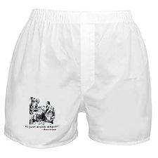 Socrates Humor Hemlock Boxer Shorts