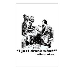 Socrates Humor Hemlock Postcards (Package of 8)