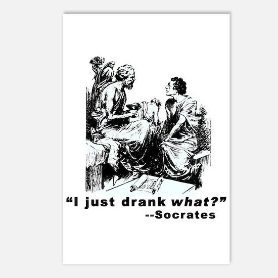Socrates Humor Hemlock Postcards (Package of 8)