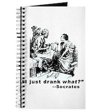 Socrates Humor Hemlock Journal
