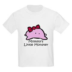 Mommy's Little Pink Monster T-Shirt