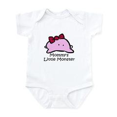 Mommy's Little Pink Monster Infant Bodysuit