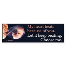 Choose Me Bumper Bumper Bumper Sticker