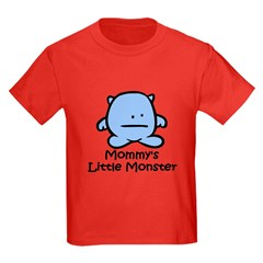 Mommy's Little Blue Monster T