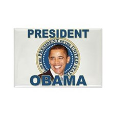 President Barck Obama t-shirt Rectangle Magnet (10