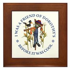 FRIEND OF DOROTHY'S Framed Tile