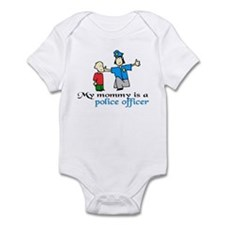 My mommy is a police officer Infant Bodysuit