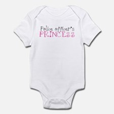 Police officer's princess Infant Bodysuit