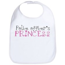 Police officer's princess Bib