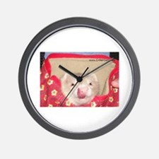 Yummy ferret Wall Clock