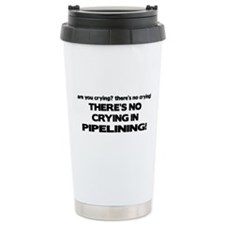 There's No Crying in Pipelining Travel Mug
