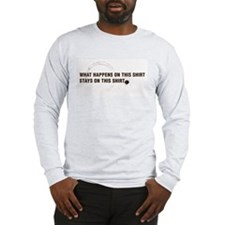 Stained Shirt Long Sleeve T-Shirt