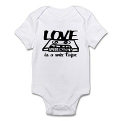 Love is a Mix Tape Infant Bodysuit