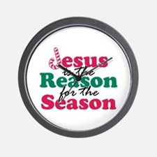 About Jesus Cane Wall Clock