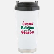 About Jesus Cane Stainless Steel Travel Mug