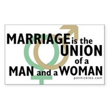 Marriage Decal