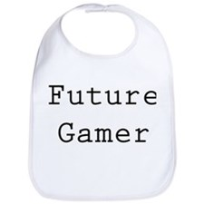 Cute Future gamer Bib