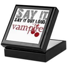 Say it, Out Loud Keepsake Box