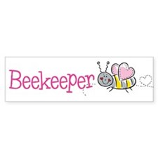 Cute Beekeeper Bumper Bumper Sticker