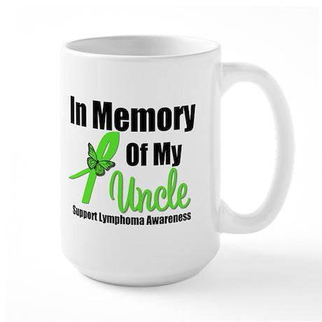 In Memory of My Uncle Large Mug