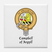 Campbell of Argyll Tile Coaster