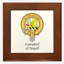 Campbell of Argyll Framed Tile
