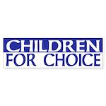 Children for Choice (pro-choice sticker)