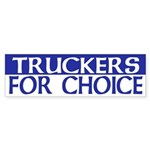 Truckers for Choice (bumper sticker)