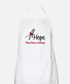 HopeButterfly Brain Cancer BBQ Apron