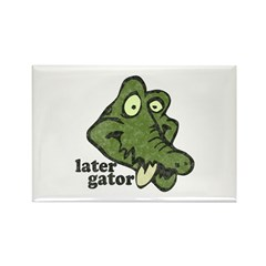 Distressed Vintage Later Gato Rectangle Magnet (10