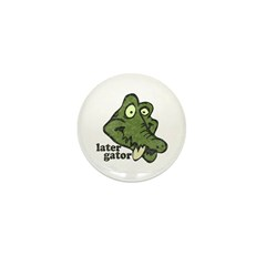 Distressed Vintage Later Gato Mini Button (10 pack