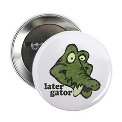 """Distressed Vintage Later Gato 2.25"""" Button (1"""