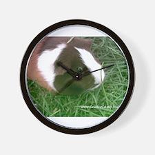 Ginger the cute guinea piggy Wall Clock