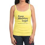 Keep Abortion Legal Jr. Spaghetti Tank