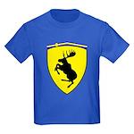 Kids Dark T-Shirt, 10 inch moose