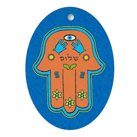 """Hamsa """"Shalom"""" Peace Amulet / Keepsake"""