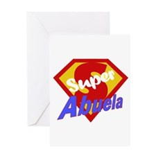 Super Abuela Greeting Card